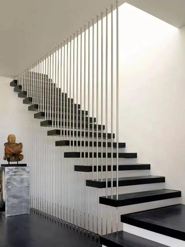 loft复式楼梯设计,大气有格调,简直帅到掉渣!图片