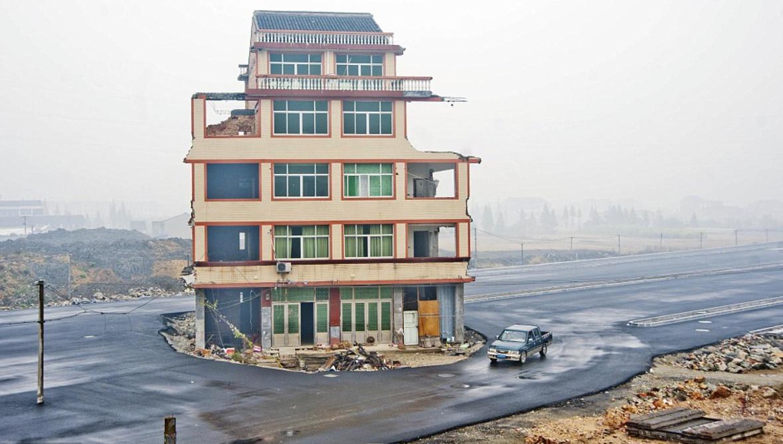 """北京最牛""""钉子户""""占据市政干道7年之久,最终输给现实欲哭无泪"""