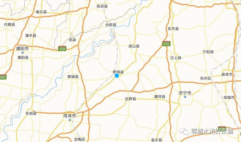 该故事发生在今山东省菏泽市郓城县的黄泥冈.图片