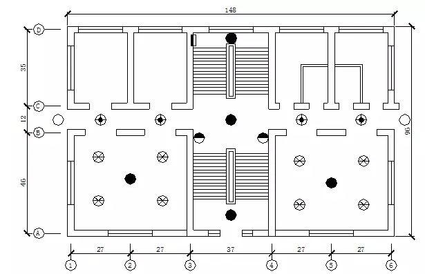 23个经典电气工程CAD图纸图片
