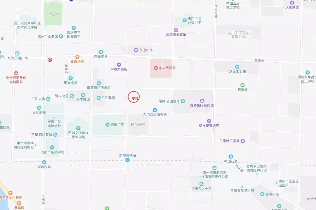 """崇州土地市場受涼 ?主城黃金地塊被""""秒殺"""",溢價 4%"""