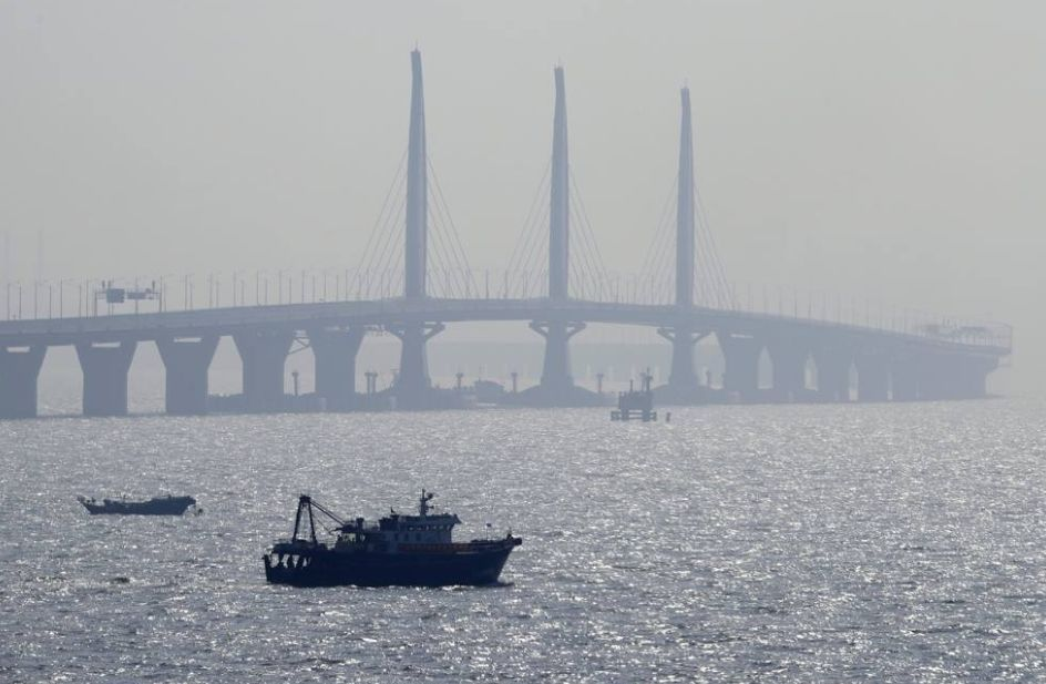 """""""港澳珠大桥""""震惊意大利:""""中国人是外星人吗?"""""""