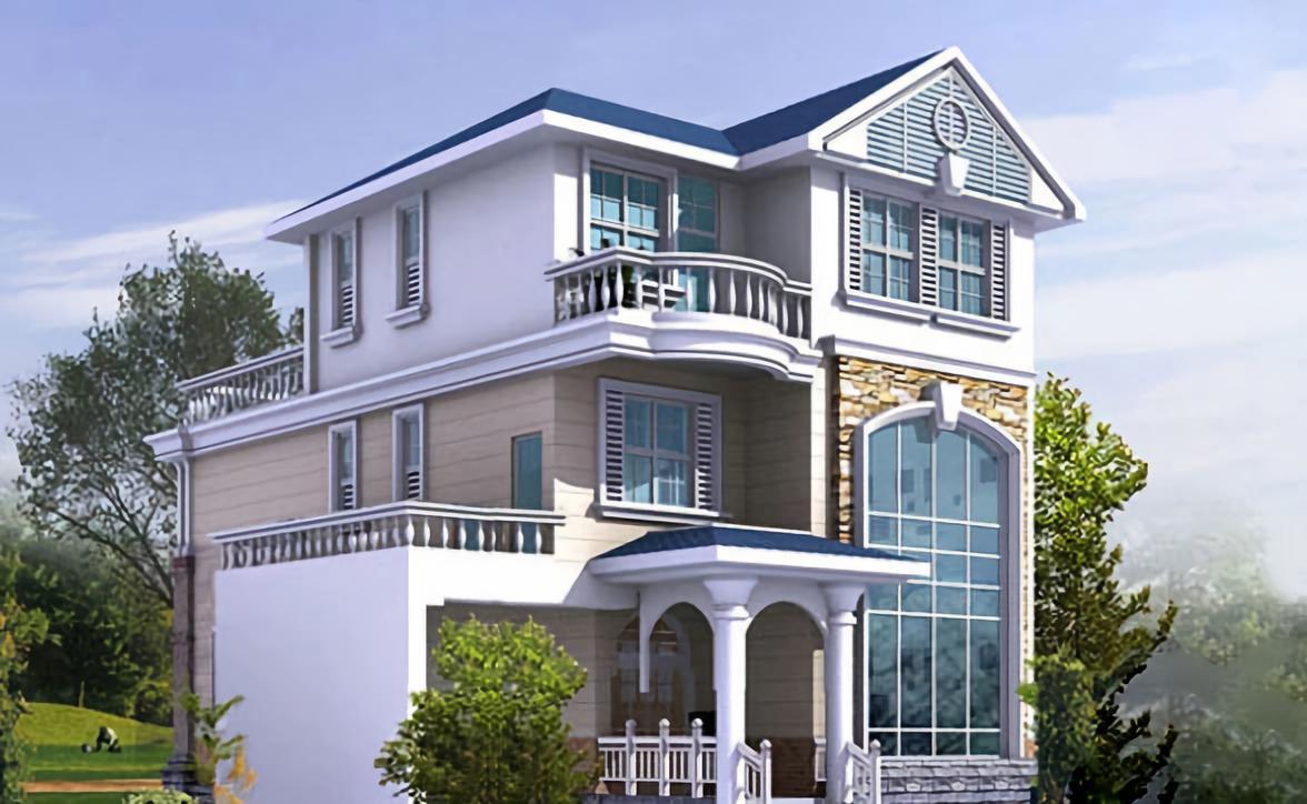 120平方房子1层设计图