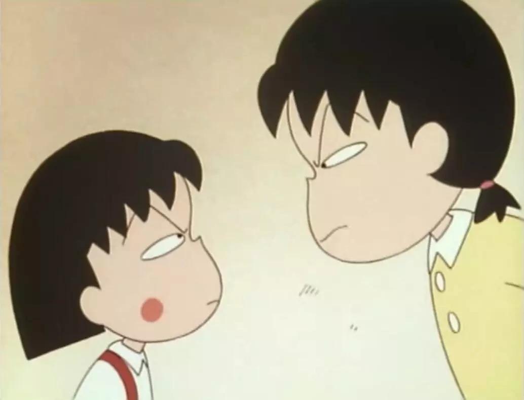 樱桃小丸子姐姐_小丸子和姐姐虽然经常吵架,但关键时刻姐妹情深