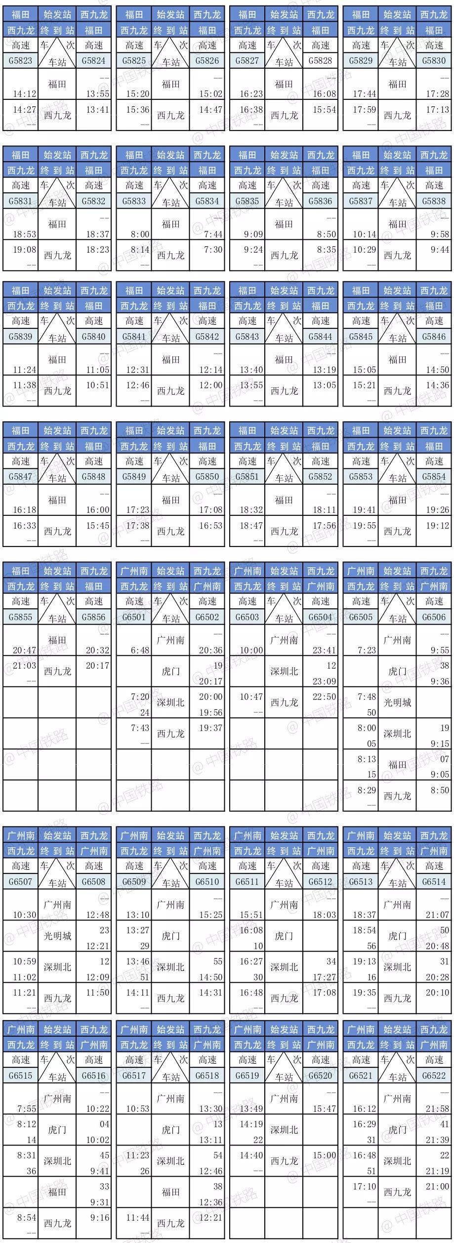 贵阳至香港高铁票9月10日8点开售,单程票价538元