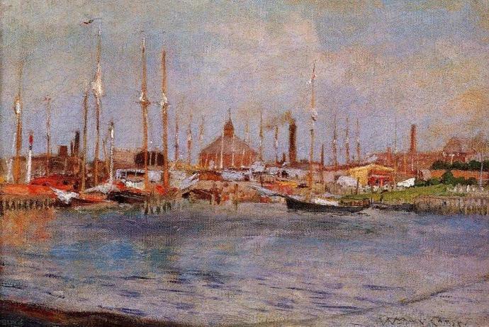 在欧洲期间在慕尼黑美术学院师从亚历山大冯瓦格纳(和卡尔冯皮娄迪,并图片