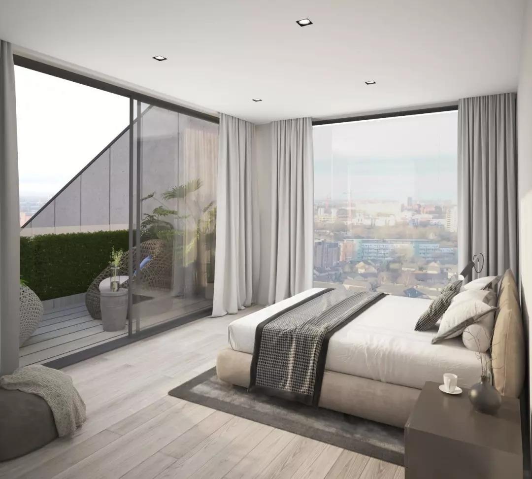 曼城房價漲幅超倫敦,高端河景公寓首付僅19萬起,坐享6%租金收益