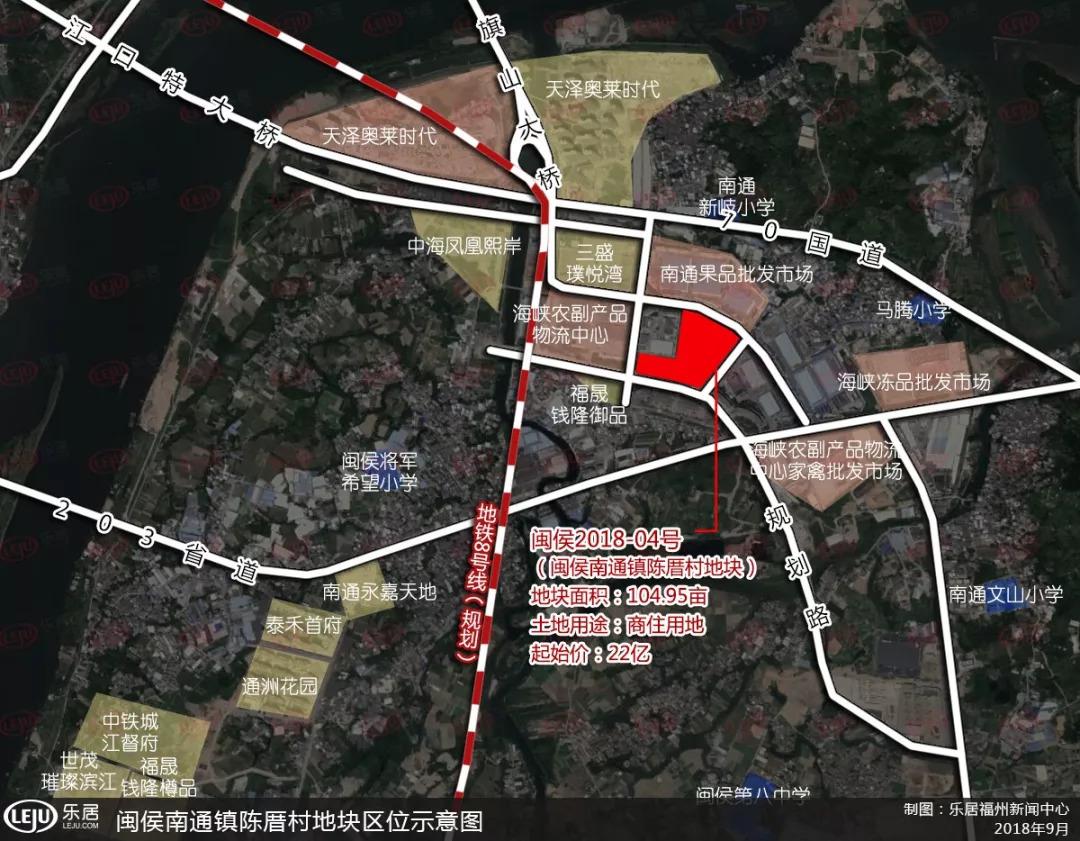 从规划来看,地块不远处规划有地铁8号线.