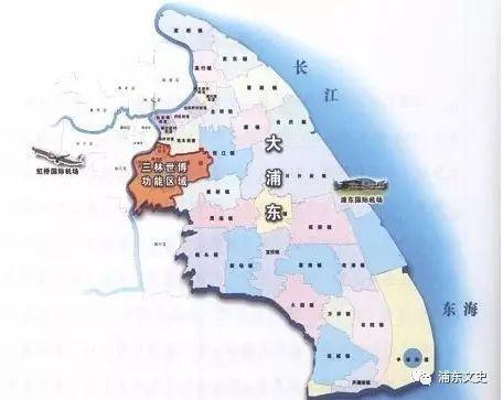 """""""大浦东""""地图"""