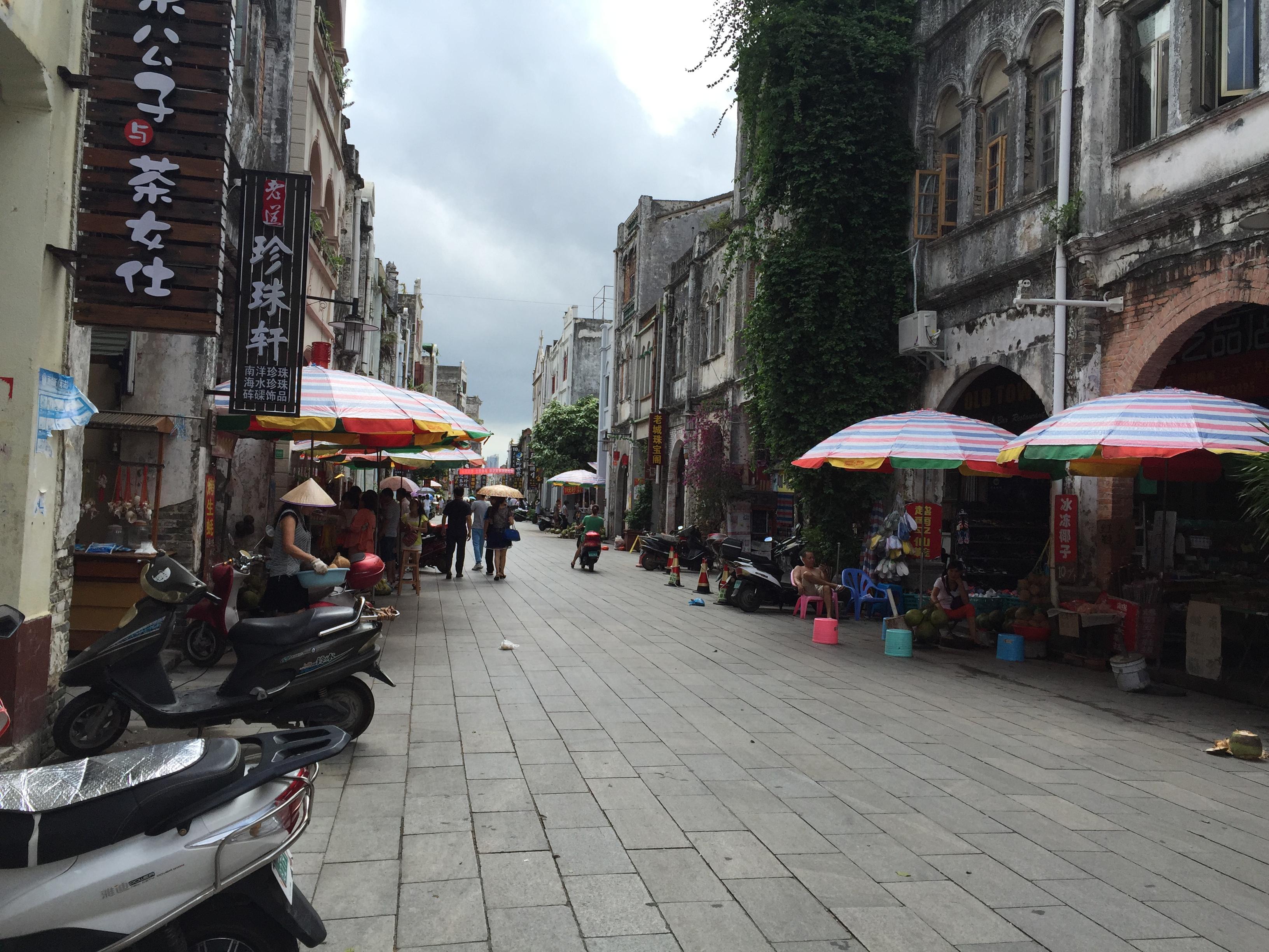中国岭南保存最完整的老街、也曾是电视剧《上海滩》的取景地!