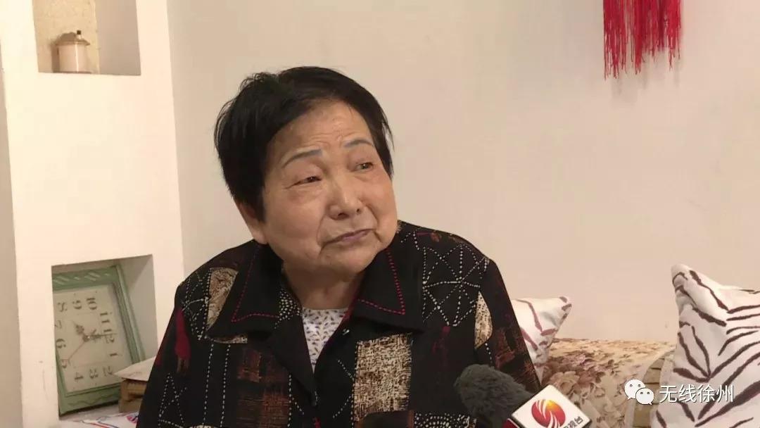 一心要在身后捐献眼角膜的睢宁退休教师郭增芳奶奶.