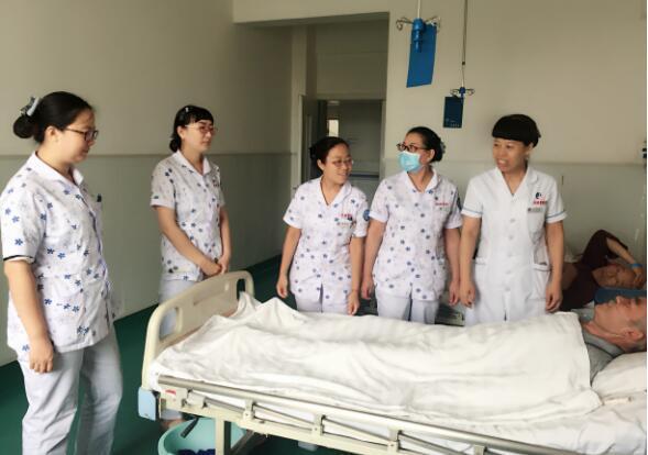 美丽天使——芮城县人民医院神经内科的医护人员