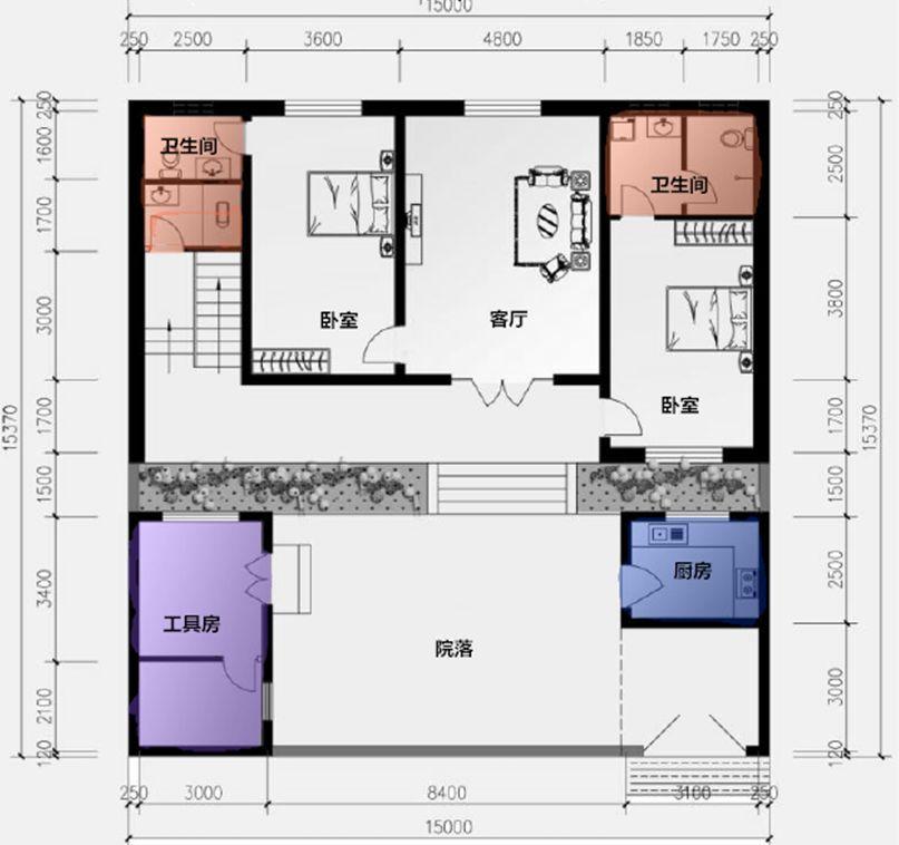 聊城房产证房屋平面图