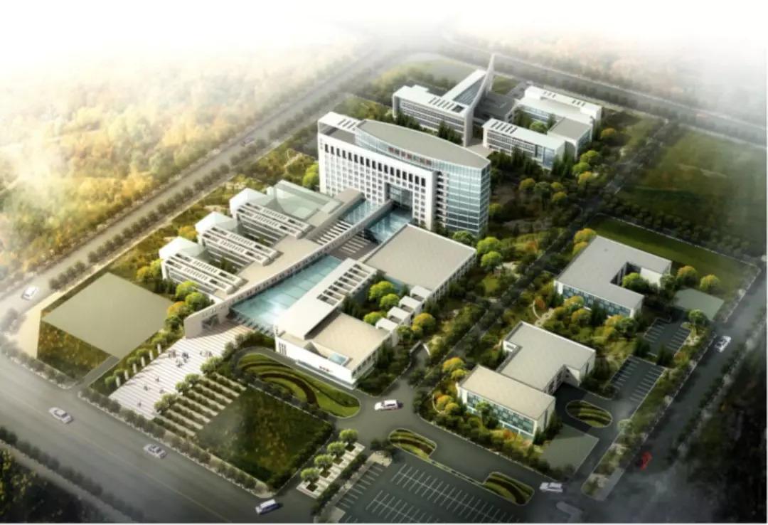 崇州第一人民医院及妇幼保健院概念方案图片
