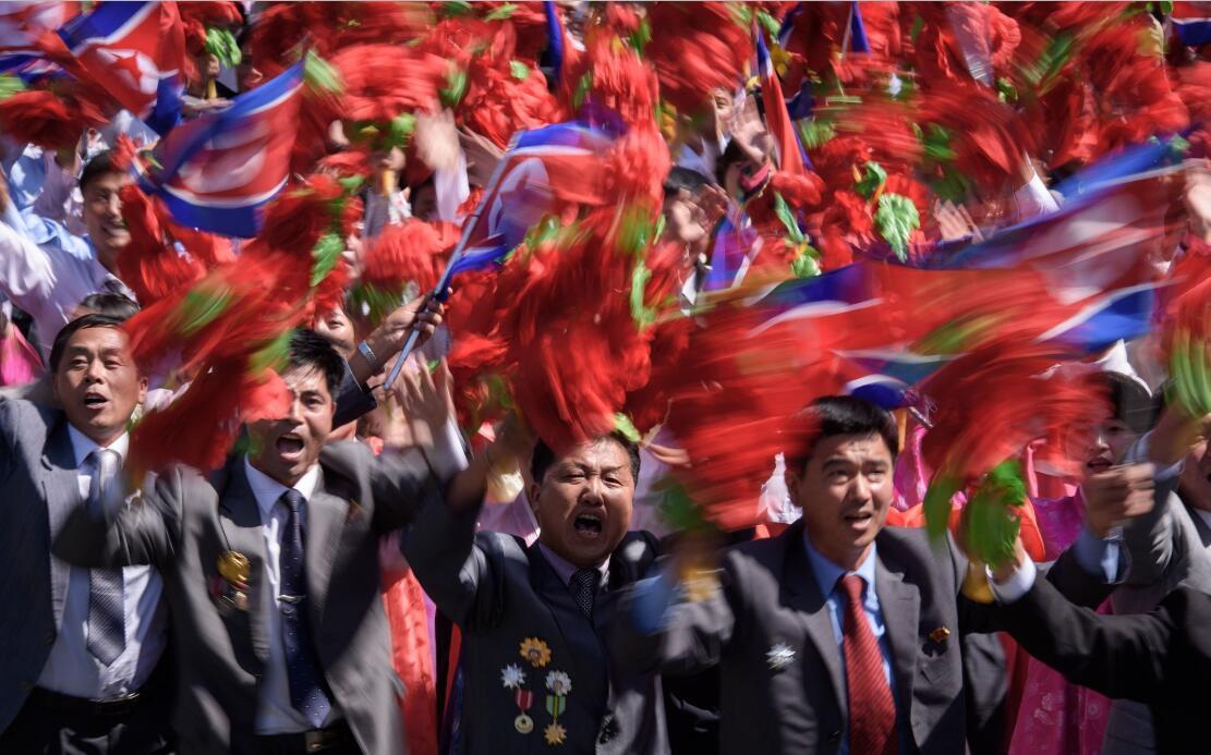 1/ 12 当地时间2018年9月9日,朝鲜平壤,朝鲜举行阅兵庆祝建国70周年.