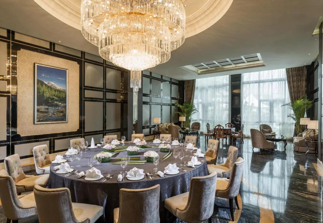 成都环球中心天堂洲际大饭店放大招图片