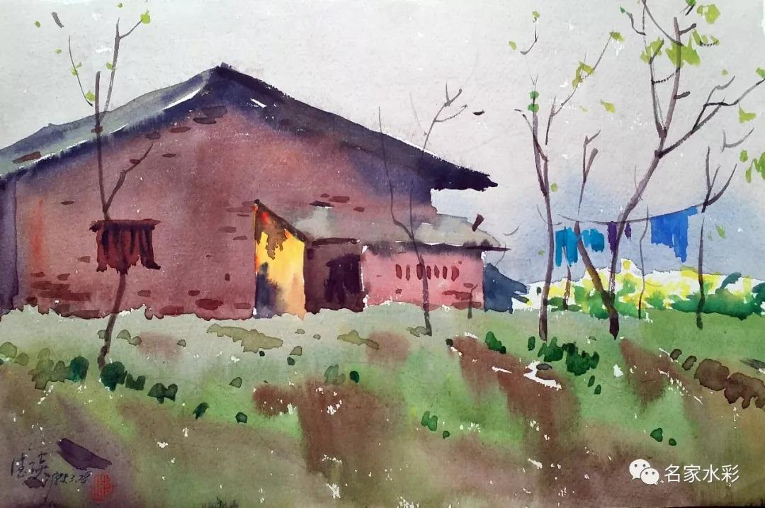 平凡的風景—漆德琰重慶大學校園寫生