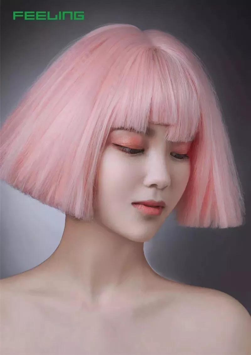 《第九届菲灵造型大赛全场总冠军》,为中国女发型师打call!图片