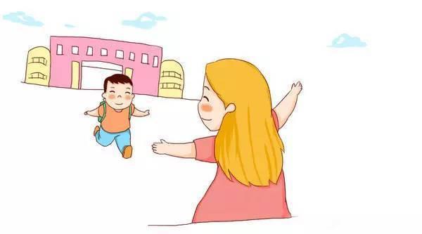 幼儿园放学,妈妈接孩子强于老人接!你家都是谁负责?图片