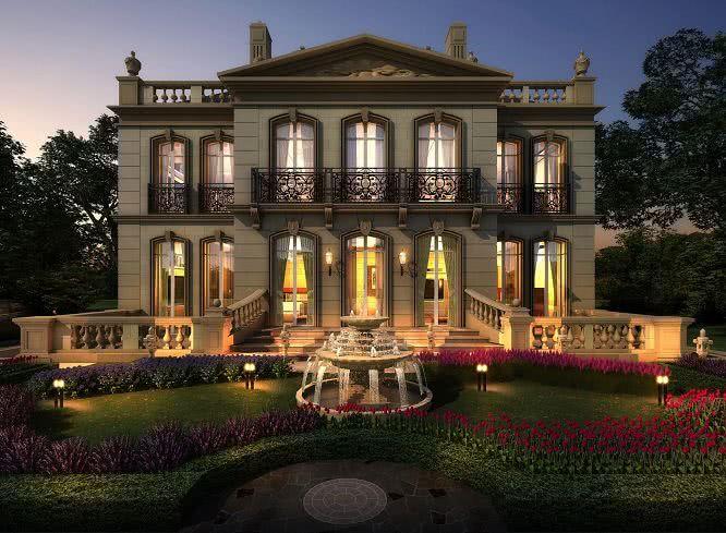 十大别墅承重风格,一看图就懂,你心水哪一种呢?什么建筑别墅萨伏伊是图片