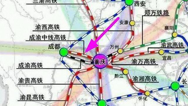大足区城区规划图
