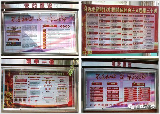 省委公共领域宣传载体检查组到西安社区检查指导图片