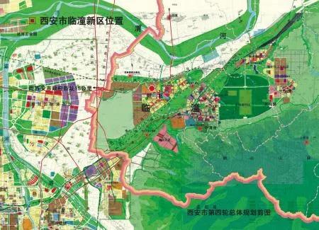 西安临潼区新区规划图