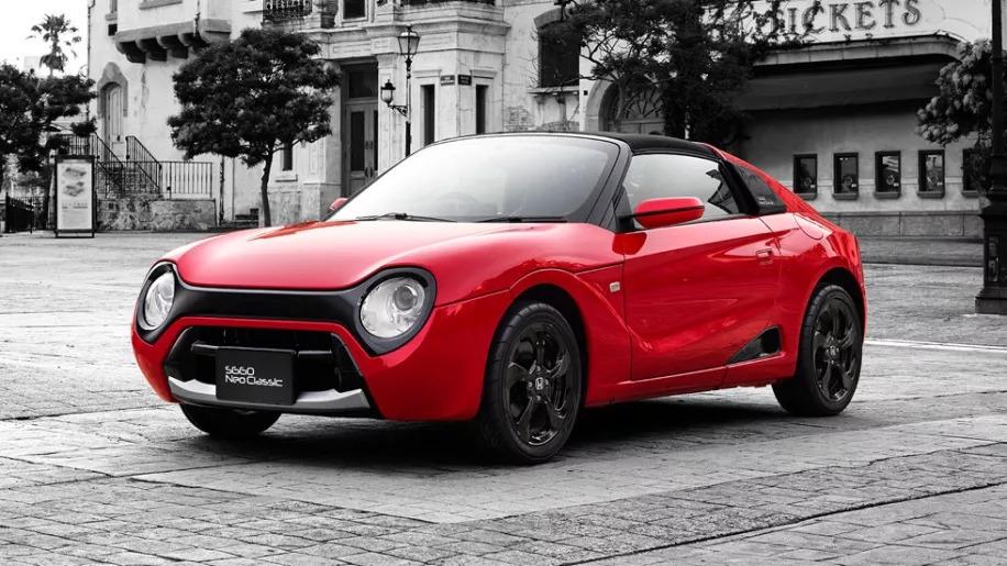 本田中置后驱小跑车复古造型版接近量产