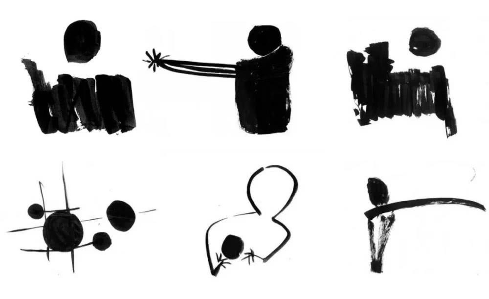 ▲诗人海子为数不多的简笔画   诗选   春天,十个海子   从秦始皇开始   想要生存的人都要去异乡的旷野上修筑长城   但自你而后