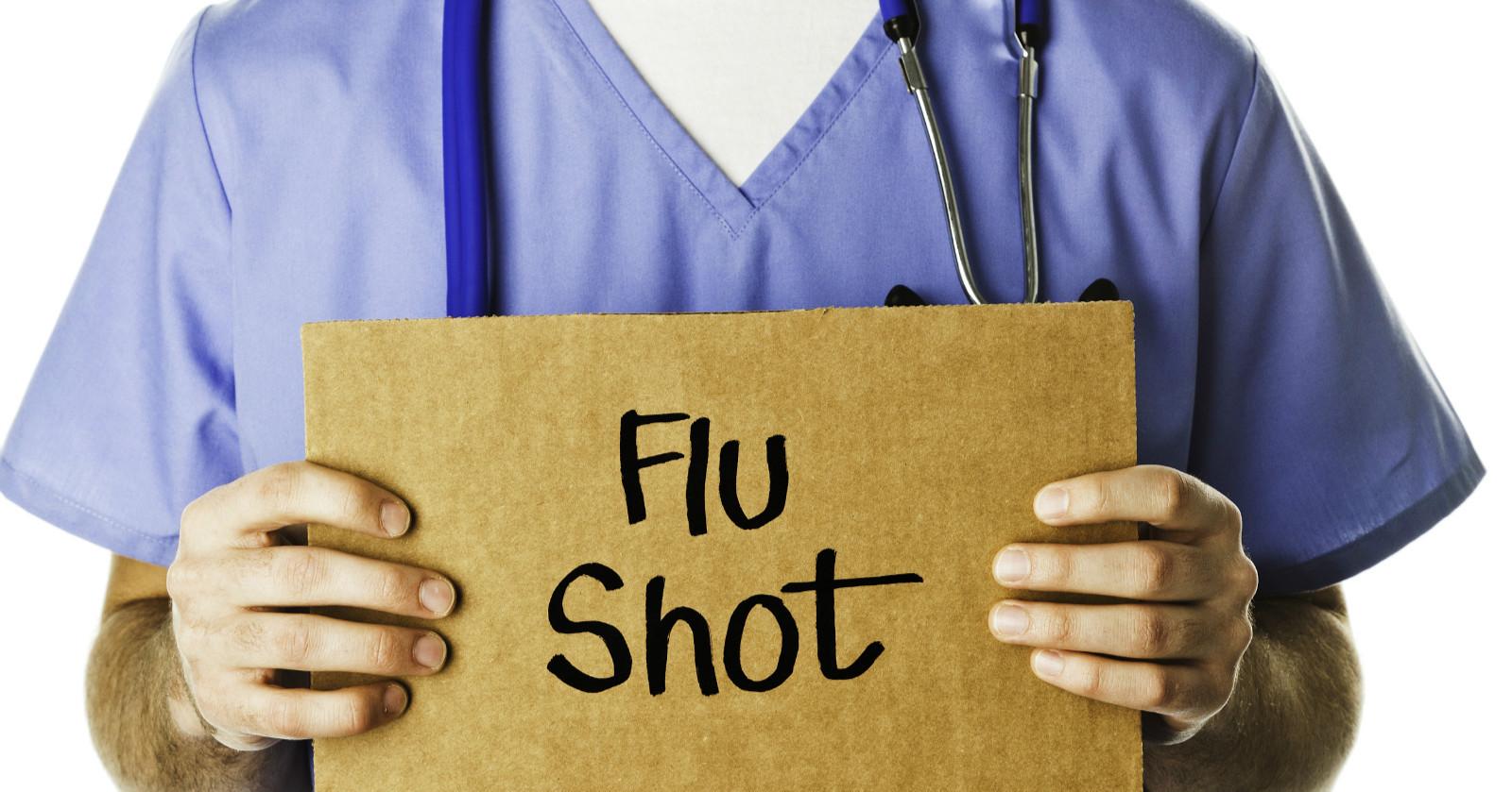 英国卫生部门强制医护人员接种流感疫苗:不打就别出诊!