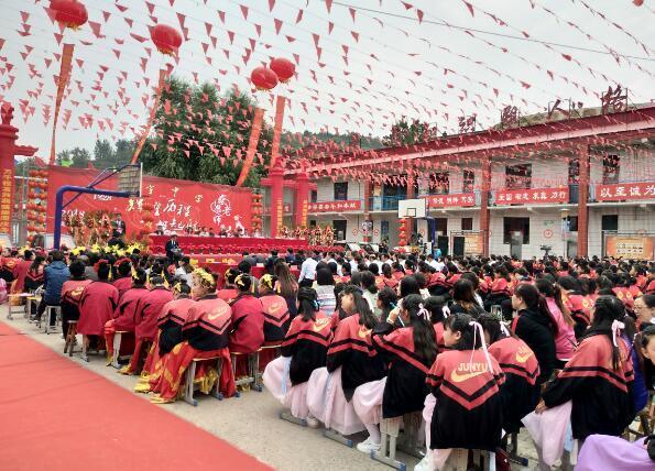 回顾君宇风采 发扬自愿精神——静乐县君宇中学20年华诞取得圆满成功