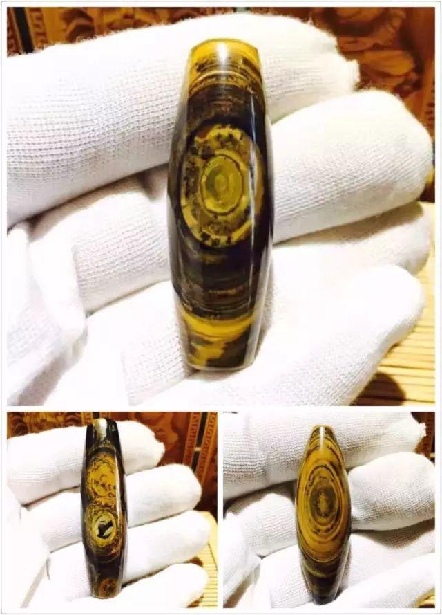 蒙天珠的价格涨了,成交价格四十万元