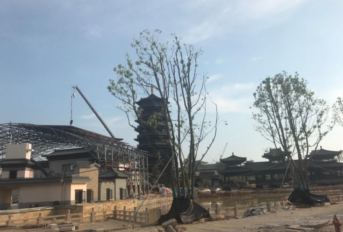 长沙铜官窑未完工就匆匆开业,游客:120元门票参观工地?