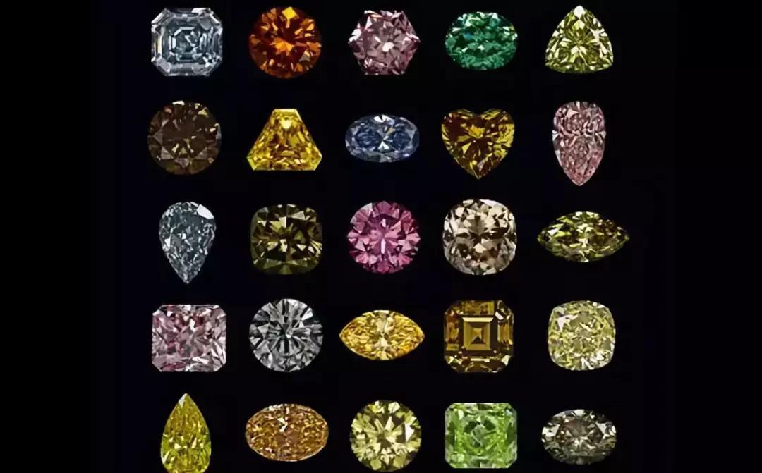 科普丨关于彩色钻石的小知识