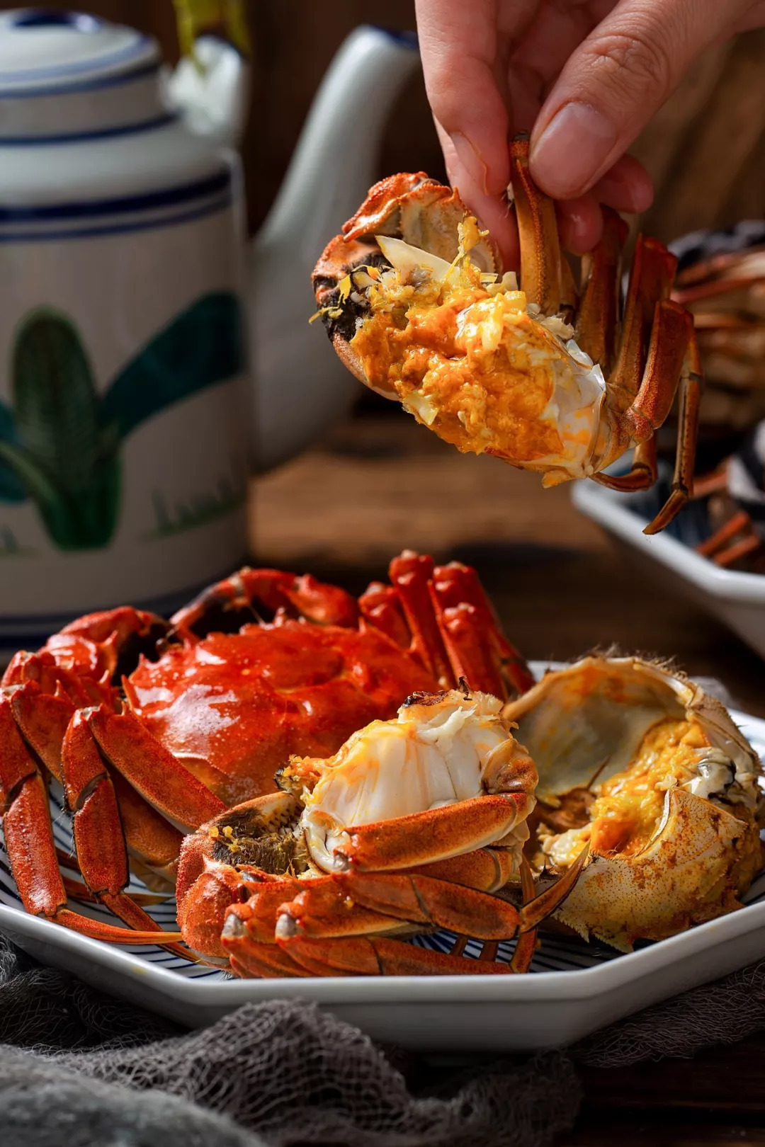 阳澄湖大闸蟹即将开捕!菊黄蟹肥,去源头吃最新鲜肥美的蟹!