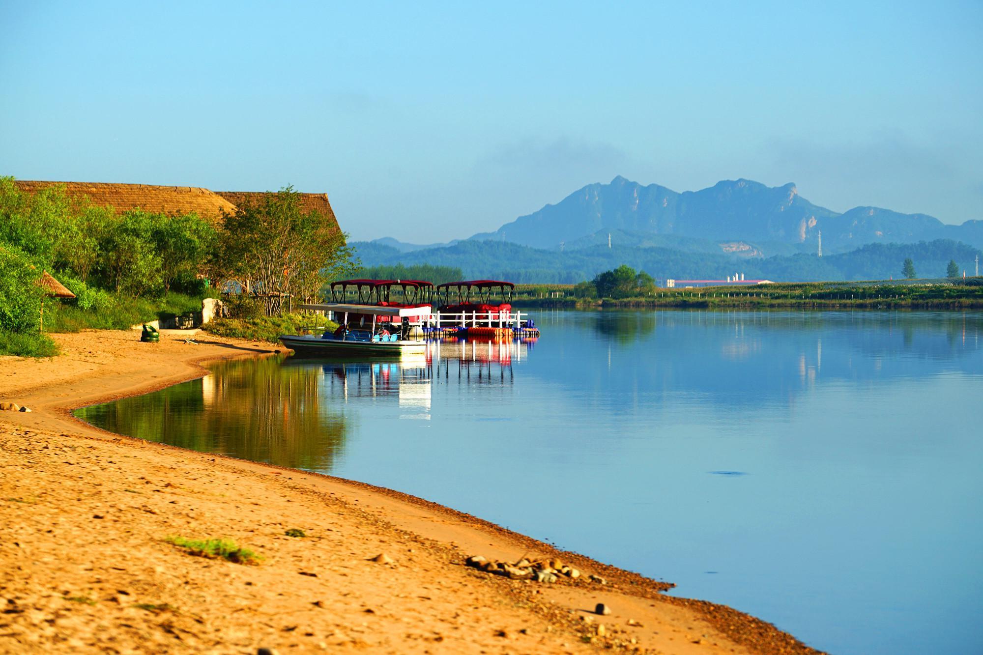 养生度假就到凤城来,爱河畔有人在等你