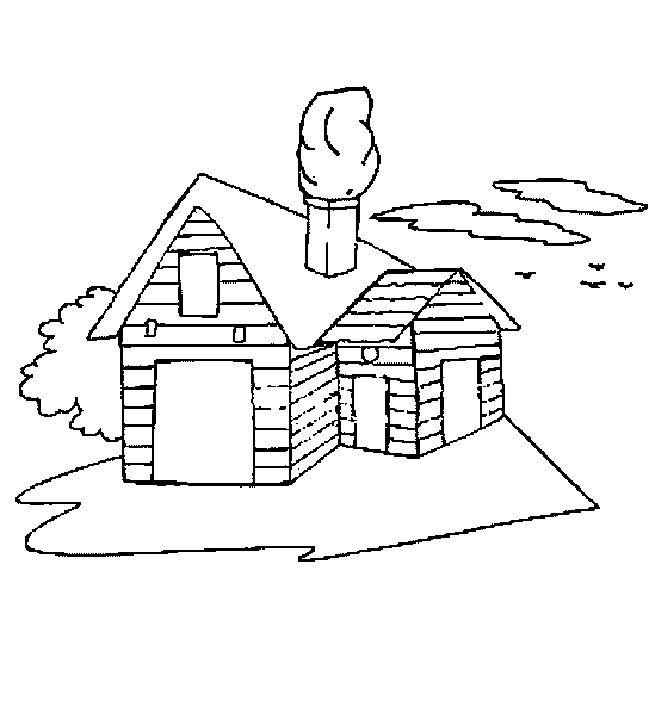 儿童简笔画大全 房子