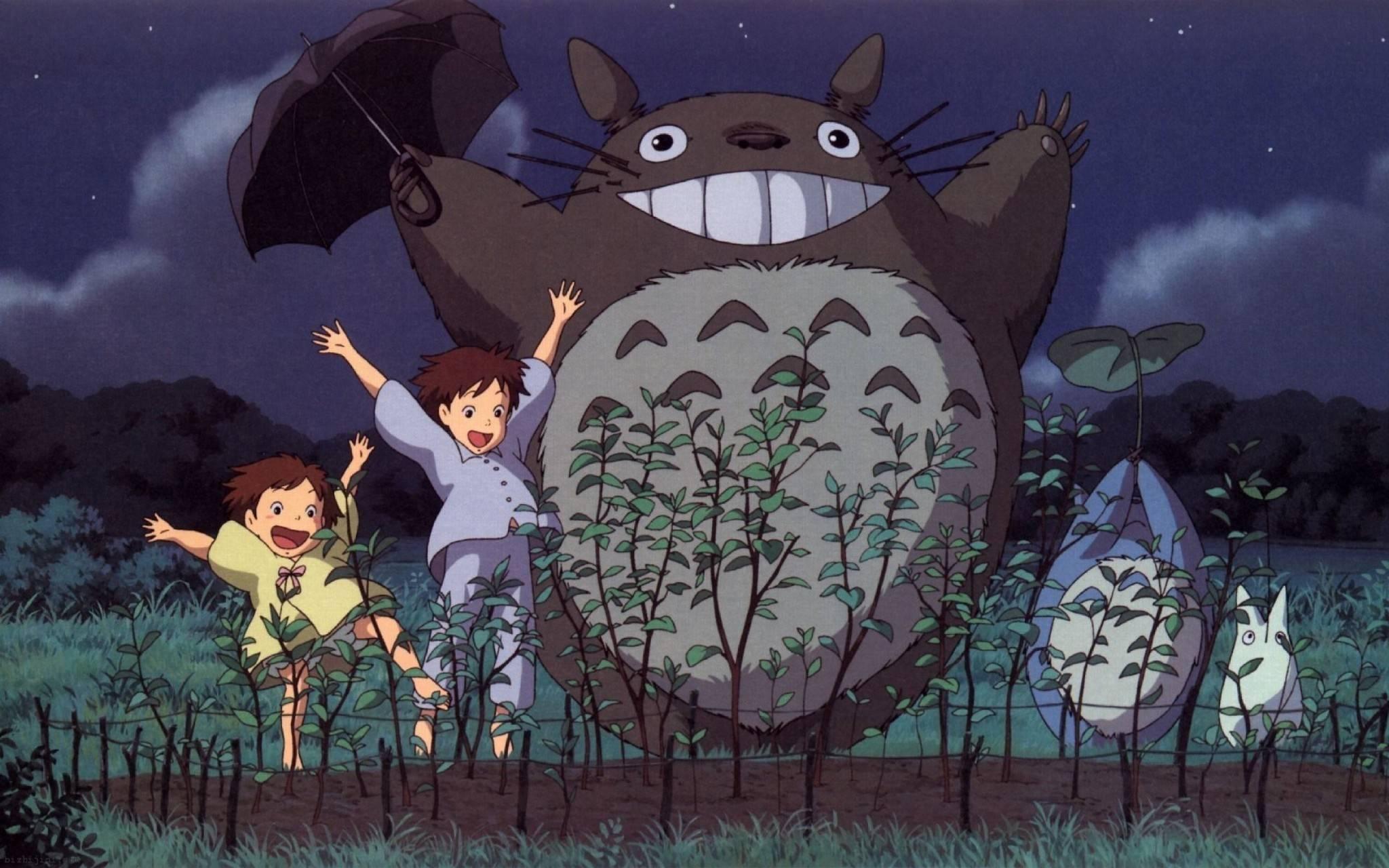 宫崎骏电影中的龙猫   《龙猫》图片