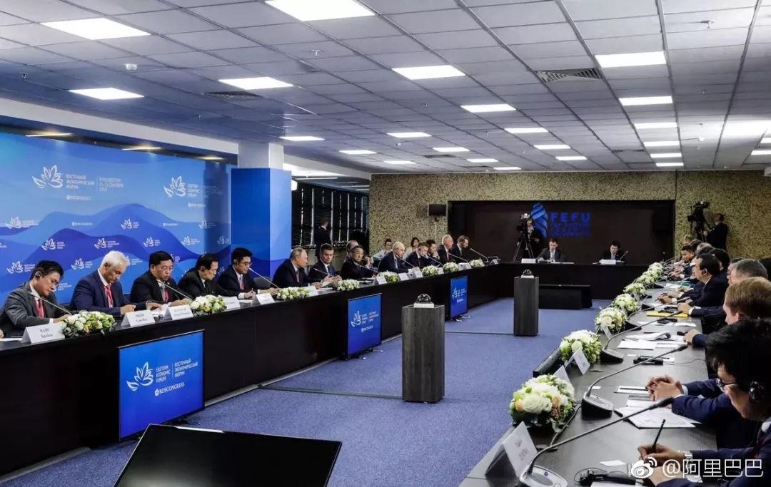 阿里与俄罗斯三巨头成立合资公司,普京全力支持