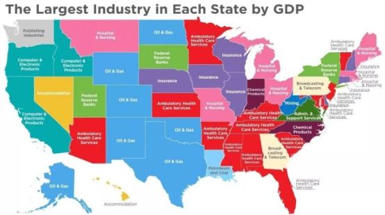 美国地�_美国各州地图对照参考