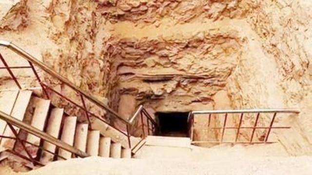 中国唯一一座九层古墓专家挖到第二层突然停止了当地传国内儿童家
