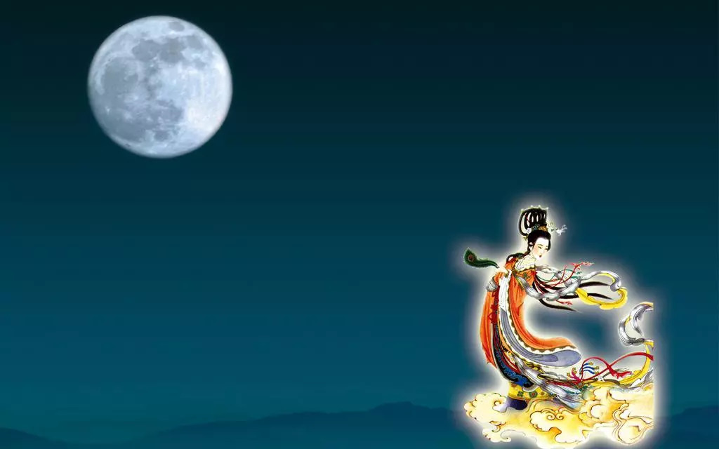 嫦娥奔月的神话故事