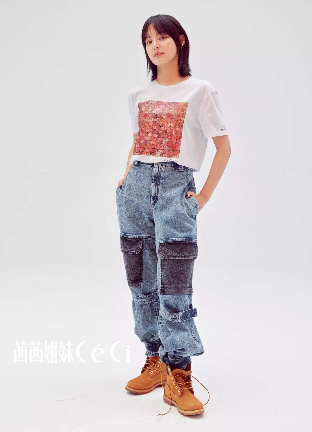 """《如懿传》《斗破苍穹》…""""千面女王""""辛芷蕾为爱演绎CéCi十周年公益T恤!"""