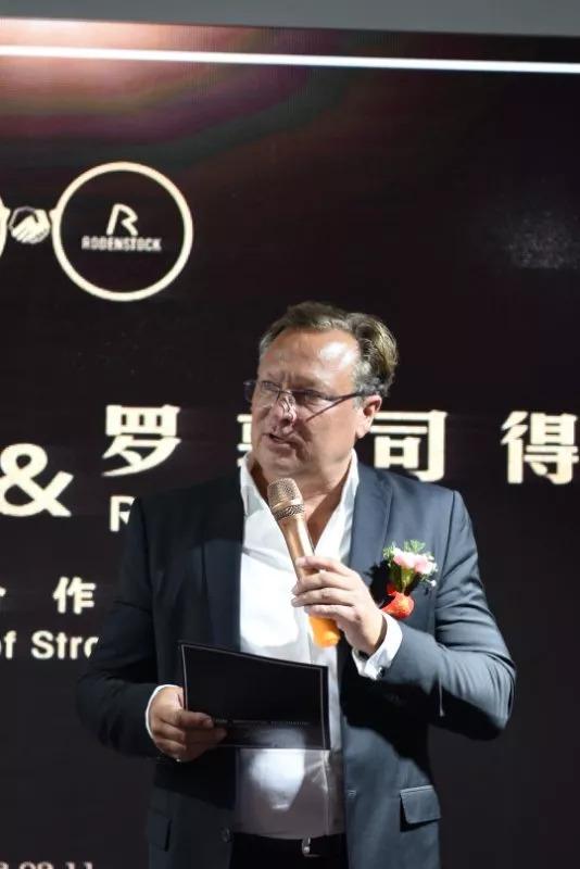 【强强联合】天润光学与罗敦司得公司签约品牌战略合作,成为罗敦司得品牌中国地区唯一授权经销商-雪花新闻