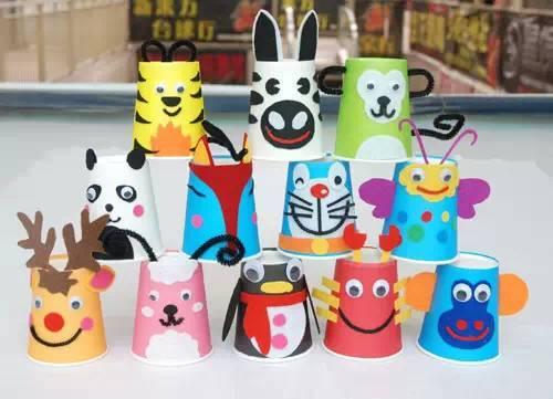 幼儿园纸杯创意手工制作,不可错过!| 巧手教育