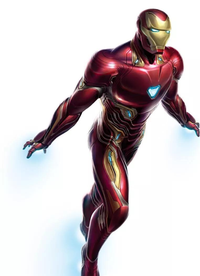 复联4 高清设计图曝光 钢铁侠绿巨人的战衣细节清晰可见