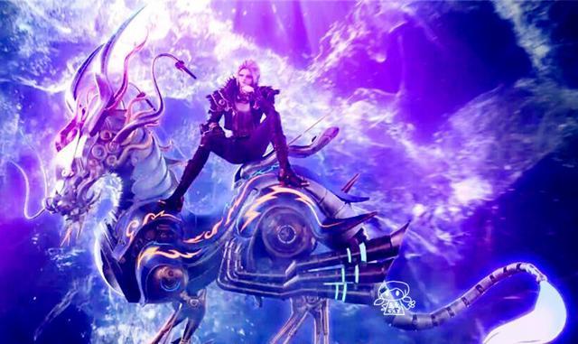精灵梦叶罗丽中的六只神兽,孔雀也拥有一只,颜爵的九尾狐最帅气图片