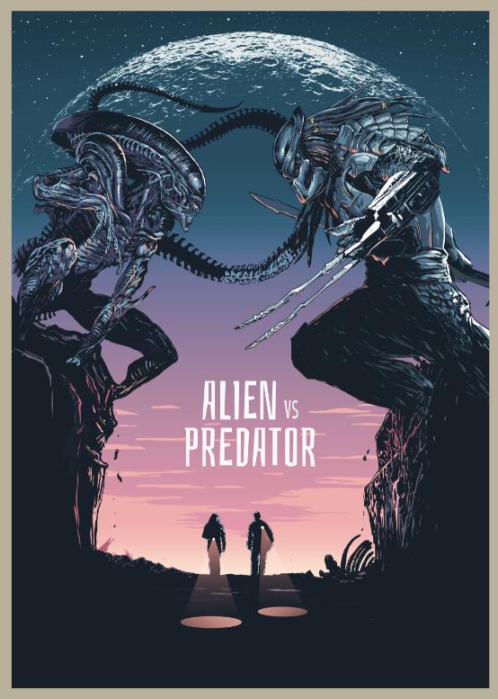 《铁血战士》曝系列致敬海报 硬气三十年的科幻经典