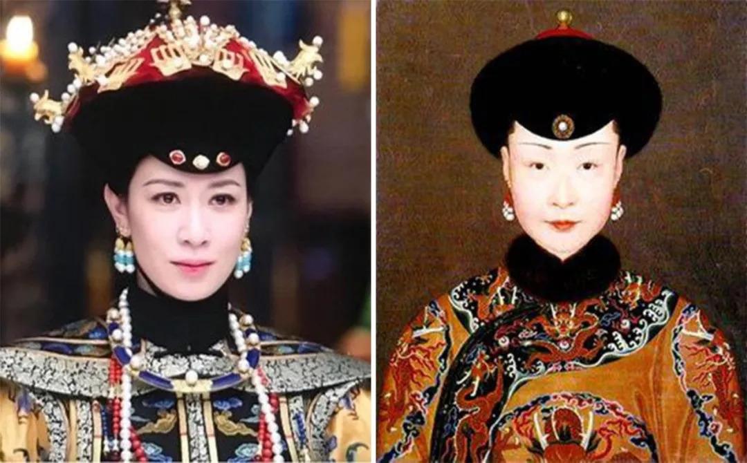 看完清朝后妃的照片,才发现《如懿传》《延禧攻略》把图片