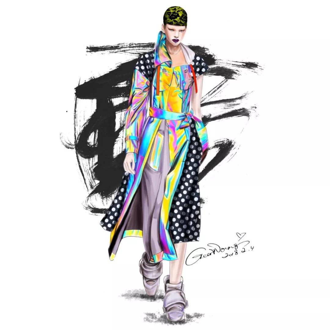 独立著作《时装画精品课----服装设计效果图手绘表现实用教程》.